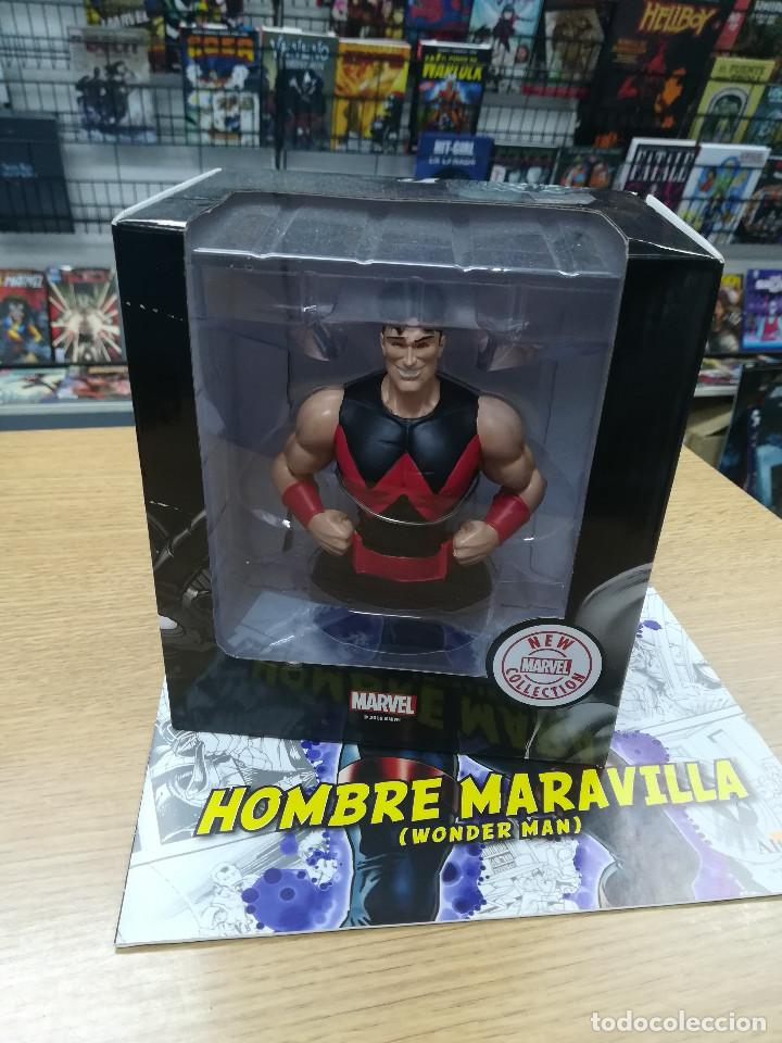 BUSTOS DE COLECCION SUPER HEROES MARVEL #44 HOMBRE MARAVILLA (Tebeos y Comics - Comics Merchandising)