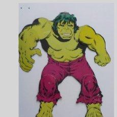 Cómics: EL INCREIBLE HULK.LA MASA.SUPER HEROES EN ACCION.POSTER MOVIL (MARVEL COMICS 1980). Lote 199309783