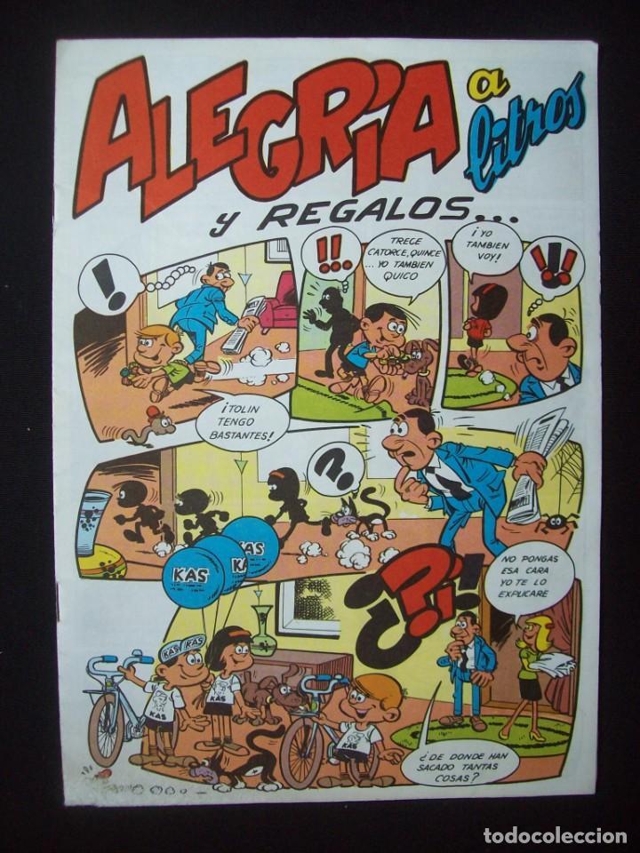 ALEGRÍA A LITROS Y REGALOS . CUADERNILLO PUBLICITARIO KAS. MARTÍNEZ OSETE) (Tebeos y Comics - Comics Merchandising)