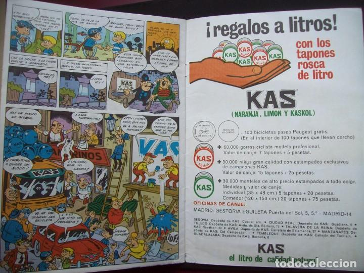 Cómics: Alegría a litros y regalos . Cuadernillo publicitario KAS. Martínez Osete) - Foto 3 - 204064063