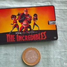 Cómics: THE INCREDIBLES..LINTERNA TARGETA..FUNCIONA. Lote 205670228