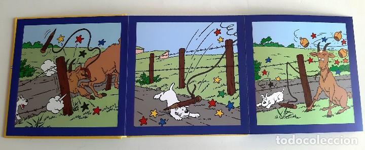 Cómics: TINTIN - IMAGENES EN ACCION - DESCUBRO LOS ANIMALES - EN FRANCES - Foto 2 - 206805982