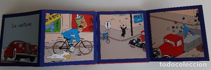 Cómics: TINTIN - IMAGENES EN ACCION - DESCUBRO LOS MEDIOS DE TRANSPORTE - EN FRANCES - Foto 3 - 206806812