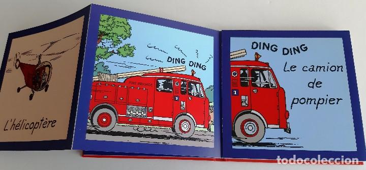 Cómics: TINTIN - IMAGENES EN ACCION - DESCUBRO LOS MEDIOS DE TRANSPORTE - EN FRANCES - Foto 6 - 206806812