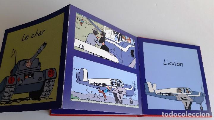 Cómics: TINTIN - IMAGENES EN ACCION - DESCUBRO LOS MEDIOS DE TRANSPORTE - EN FRANCES - Foto 7 - 206806812