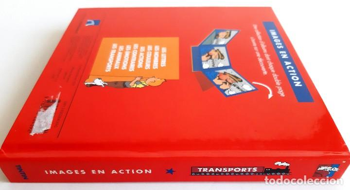 Cómics: TINTIN - IMAGENES EN ACCION - DESCUBRO LOS MEDIOS DE TRANSPORTE - EN FRANCES - Foto 9 - 206806812