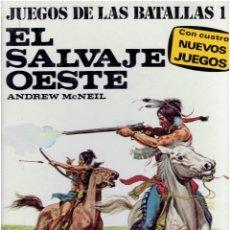 Comics : * EL SALVAJE OESTE * JUEGOS DE LAS BATALLAS 1 * ANDREW MCNEILL * PLAZA & JANES 1977 *. Lote 210069278