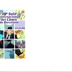 Cómics: * POSTAL EDITORIAL NORMA - SALON DEL COMIC AÑO 2001 *. Lote 210603520