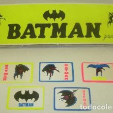 Cómics: LOTE 5 PARCHES ENTELADOS DE BATMAN AÑOS 80. Lote 32870537