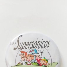 Cómics: CHAPA DE LOS SUPERSONICOS - IMAN DE 58 MM. Lote 211563751