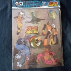 Cómics: BLISTER DE PEGATINAS THE SECRET SATURDAYS. CARTOON NETWORK. 26 X 21 CMS. Lote 211655066