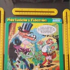 Cómics: ANTIGUO PUZZLE MORTADELO Y FILEMON CATALONIA PRESS DIDACTA 3. Lote 212036668
