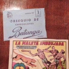 Cómics: OBSEQUIO DE CHOCOLATES BATANGA NIÑOS. Lote 218506527