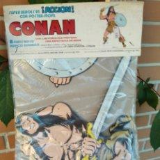 Cómics: CONAN POSTER MOVIL AÑOS OCHENTA. Lote 219104477