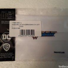 Cómics: MASCARILLA WONDER WOMAN LOGO DC COMICS TALLA L ADULTO. Lote 221639171