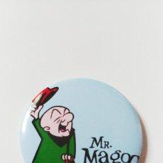 Cómics: CHAPA DE MR MAGOO - IMAN DE 58 MM. Lote 222525173