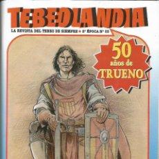 Cómics: TEBEOLANDIA 2ª ÉPOCA. Nº 03 - 50 AÑOS DE TRUENO. VIII JORNADAS DE CÓMIC DE ALMERÍA- 2005. Lote 223056743