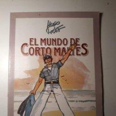 Cómics: EL MUNDO DE CORTO MALTÉS - ÁLBUM DE CROMOS COMPLETO. Lote 223973195