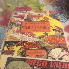 Comics : DICCIONARIO DEL USO DE LA HISTORIETA ESPAÑOLA. Lote 224780706