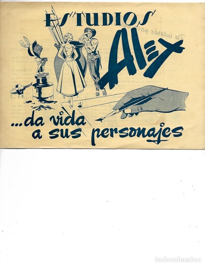 LIBRETA ESTUDIOS ALEX DA VIDA A SUS PERSONAJES (Tebeos y Comics - Comics Merchandising)