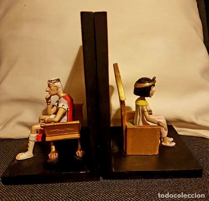 Cómics: Figuras César y Cleopatra. Exclusivas de colección. Astérix. - Foto 7 - 228070302