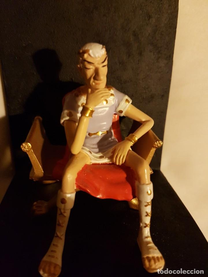 Cómics: Figuras César y Cleopatra. Exclusivas de colección. Astérix. - Foto 9 - 228070302