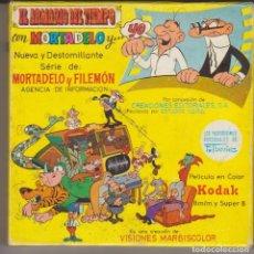 Cómics: PELICULA SUPER 8 MORTADELO Y FILEMON EN EL ARMARIO DEL TIEMPO. Lote 228454040