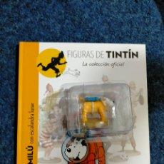 Fumetti: TINTIN FIGURA RESINA - 032 - MILU CON ESCAFANDRA LUNAR - MOULINSART COLECCION ESPAÑA. Lote 54033668
