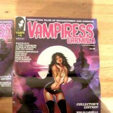 Cómics: POSTER KEN KELLY PORTADA VAMPIRESS CARMILLA 1 - WARRANT PUBLISHING - CREEPY - THE CREEPS - EERIE. Lote 232431330