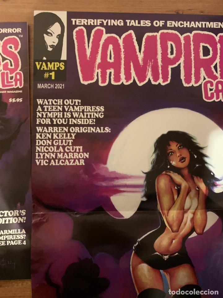 Cómics: POSTER KEN KELLY PORTADA VAMPIRESS CARMILLA 1 - WARRANT PUBLISHING - CREEPY - THE CREEPS - EERIE - Foto 5 - 232431330