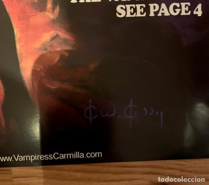 Cómics: POSTER KEN KELLY PORTADA VAMPIRESS CARMILLA 1 - WARRANT PUBLISHING - CREEPY - THE CREEPS - EERIE - Foto 6 - 232431330