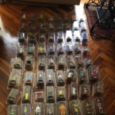 Cómics: 70 FIGURAS TINTIN EN RESINA COLECCION CON 70 LIBROS EN CASTELLANO Y CERTIFICADOS VER FOTOS HERGE. Lote 234802430