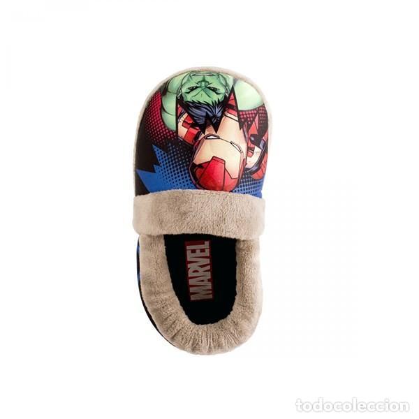 Cómics: Zapatillas The Avengers niño Nuevas Los Vengadores Producto oficial Marvel Talla 26 27 Española. - Foto 3 - 235142740