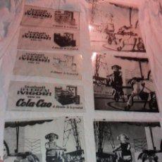 Cómics: FOTOLITO DE ANUNCIO DE COCA COLA ORIGINAL VINTAGE. Lote 235186350