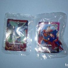 Cómics: LOTE JUSTICE LEAGUE DE PHOSKITOS: BATMAN Y SUPERMAN. Lote 235367925