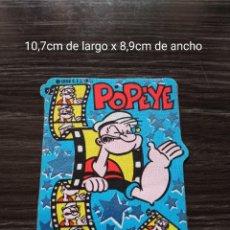 Cómics: POPEYE, PARCHE DE TEJIDO Y ADHESIVO. .K.F.S.INC.1996. Lote 239714900