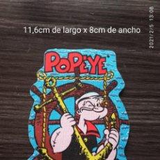 Cómics: POPEYE, PARCHE DE TEJIDO Y ADHESIVO. .K.F.S.INC.1996. Lote 239715650