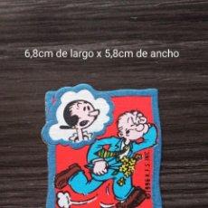 Cómics: POPEYE, PARCHE DE TEJIDO Y ADHESIVO. .K.F.S.INC.1996. Lote 239715770