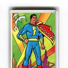 Cómics: IMAN ACRILICO NEVERA - COMIC SHAZZAN CAPITAN MARAVILLAS. Lote 243309905