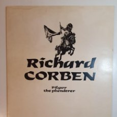 Comics : RICHARD CORBEN-- PILGOR THE PLUNDERER - PORTAFOLIO 1981 - TOUTAIN. Lote 243364595