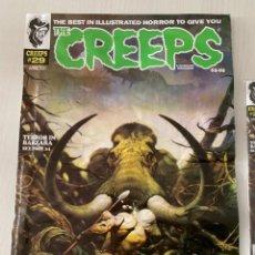 Cómics: POSTER FRANK FRAZETTA PORTADA THE CREEPS 29 - WARRANT PUBLISHING - CREEPY. Lote 244009340
