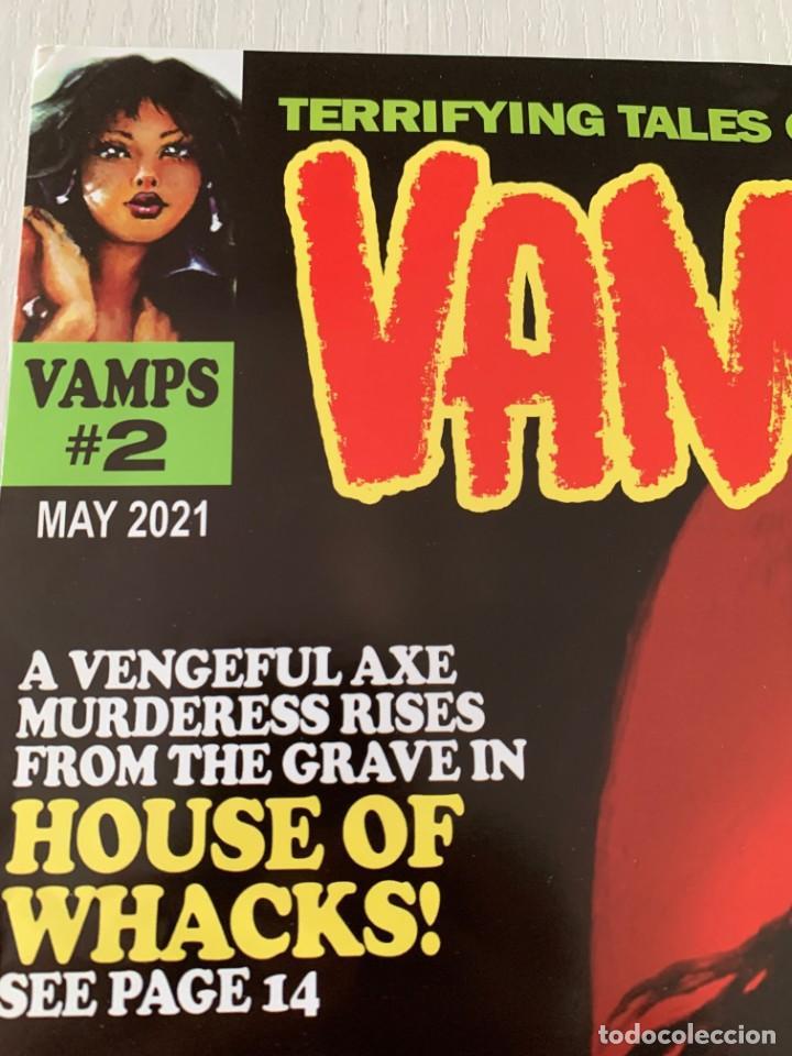 Cómics: POSTER SANJULIAN PORTADA VAMPIRESS CARMILLA 2 - WARRANT PUBLISHING - CREEPY - THE CREEPS - EERIE - Foto 5 - 244009835