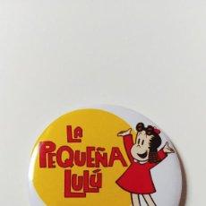 Comics : CHAPA DE LA PEQUEÑA LULÚ - IMAN DE 58 MM. Lote 244801665
