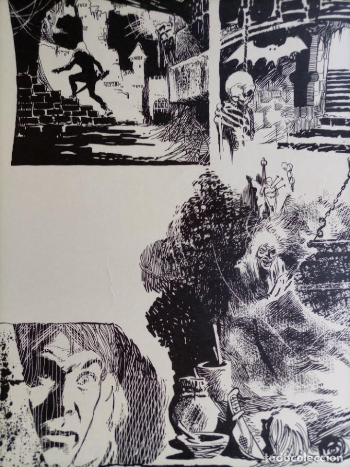 Cómics: CARTEL POSTER - ESTEBAN MAROTO - 1972 - GALERIA LAZARO - premio FOREING COMIC AWARD - 69,5x50cm - Foto 4 - 251117825