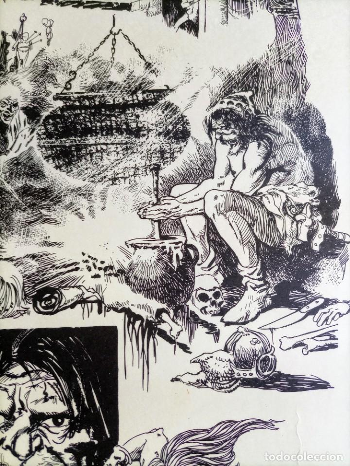 Cómics: CARTEL POSTER - ESTEBAN MAROTO - 1972 - GALERIA LAZARO - premio FOREING COMIC AWARD - 69,5x50cm - Foto 5 - 251117825