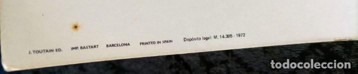 Cómics: CARTEL POSTER - ESTEBAN MAROTO - 1972 - GALERIA LAZARO - premio FOREING COMIC AWARD - 69,5x50cm - Foto 7 - 251118240