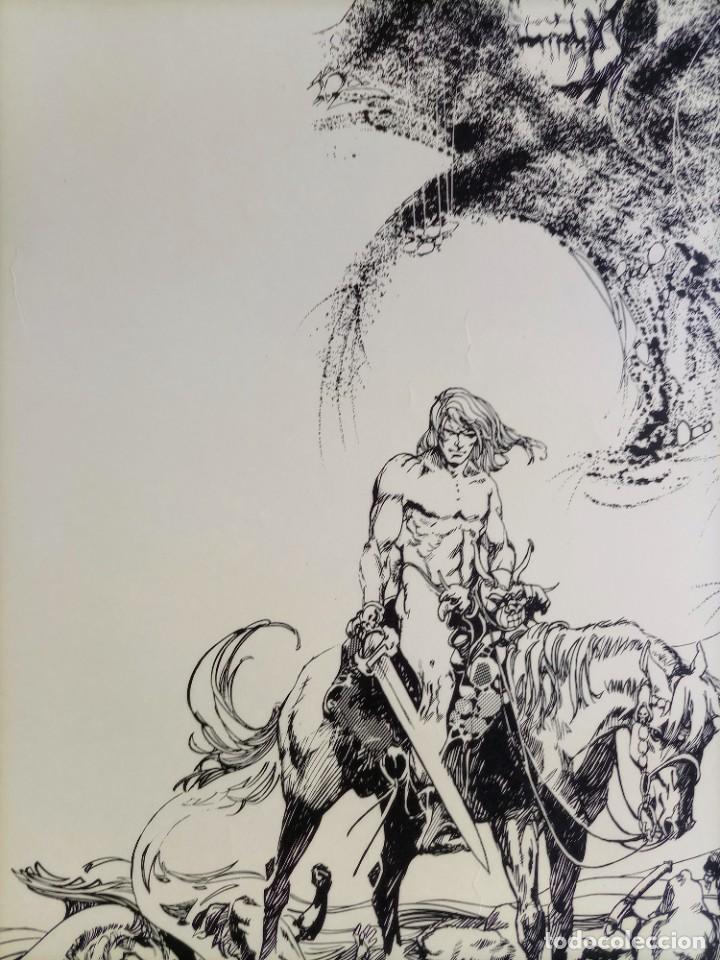 Cómics: CARTEL POSTER - ESTEBAN MAROTO - 1972 - GALERIA LAZARO - premio FOREING COMIC AWARD - 69,5x50cm - Foto 6 - 251119260
