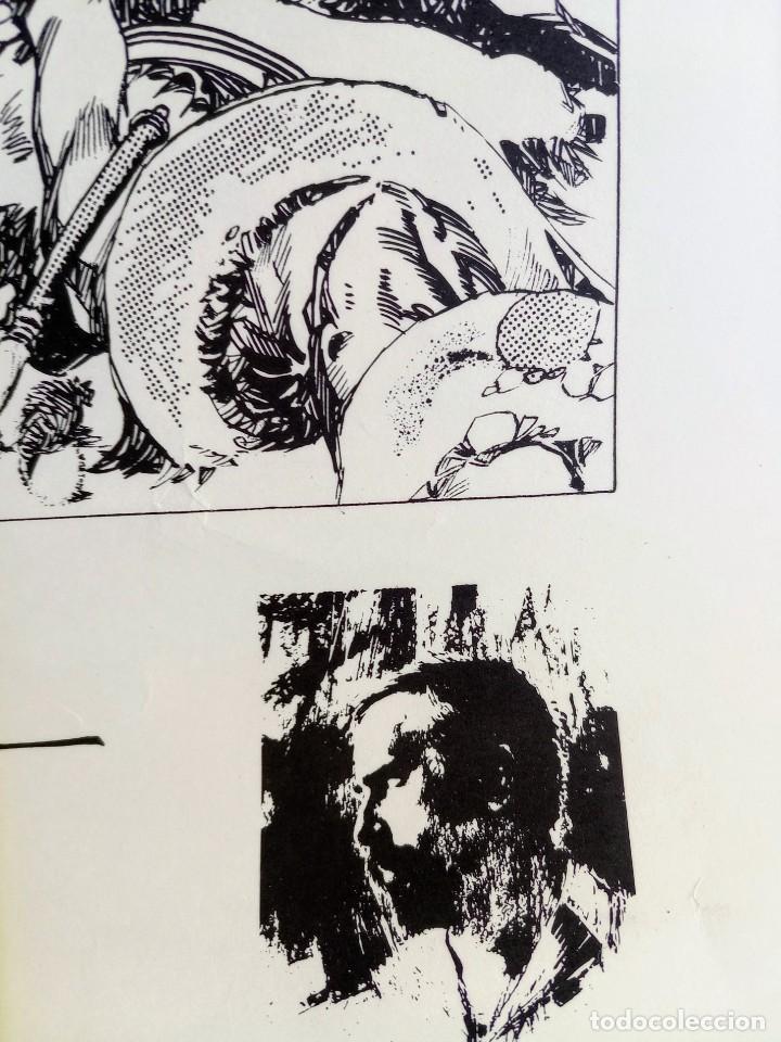 Cómics: CARTEL POSTER - ESTEBAN MAROTO - 1972 - GALERIA LAZARO - premio FOREING COMIC AWARD - 69,5x50cm - Foto 9 - 251119260