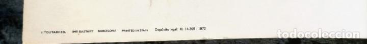 Cómics: CARTEL POSTER - ESTEBAN MAROTO - 1972 - GALERIA LAZARO - premio FOREING COMIC AWARD - 69,5x50cm - Foto 10 - 251119260