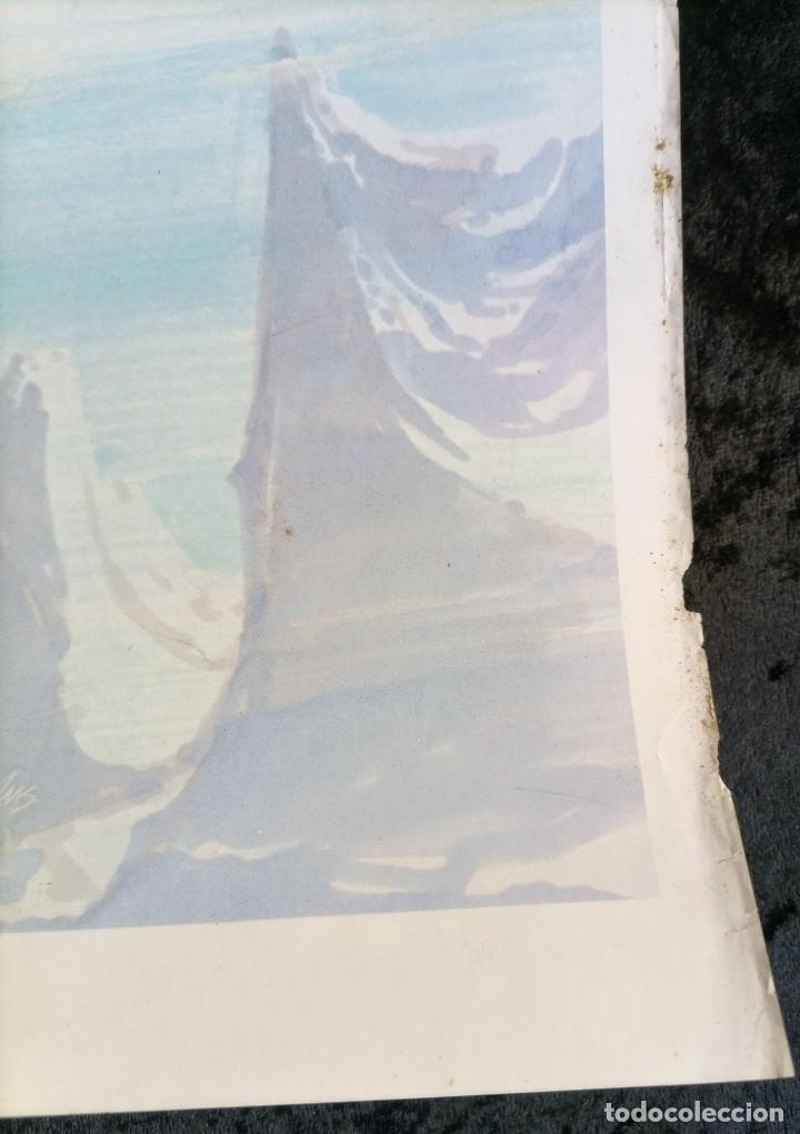 Cómics: CARTEL POSTER - THE BATTLER - NEAL ADAMS - 57,5x46 cm - 1977 SAL QUARTUCCIO - Foto 5 - 251125015